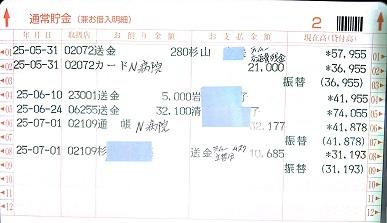 2013.6ミニピンレスキュー収支報告