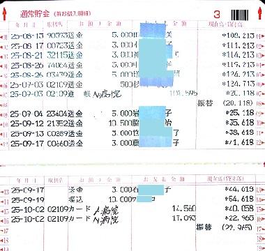 2013.9ミニピンレスキュー収支報告