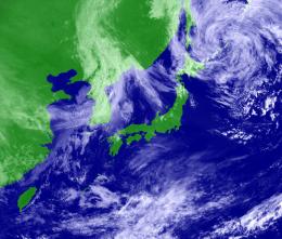 衛星可視画像 201304290900