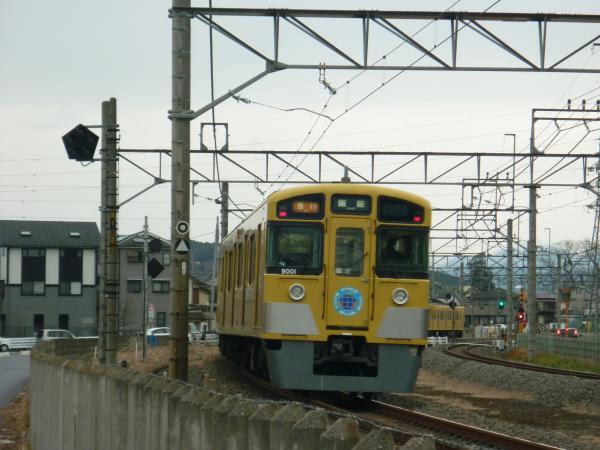 2013-12-27 西武9101F 急行飯能行き