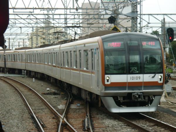 2013-12-27 メトロ10109F 快速急行元町・中華街行き