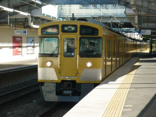 2013-12-28 西武2063F 急行飯能行き