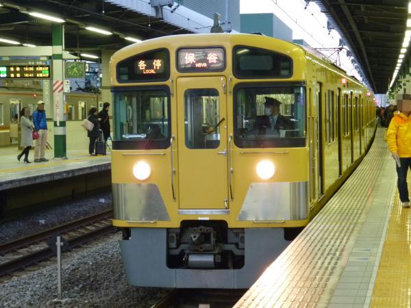 2013-12-28 西武2085F 各停保谷行き