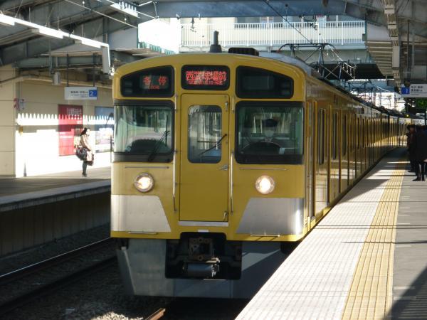 2013-12-28 西武2097F 各停西武球場前行き1
