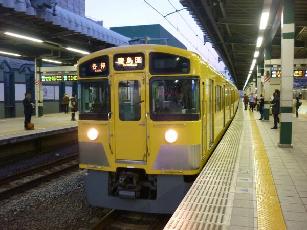 2013-12-28 西武2097F 各停豊島園行き2