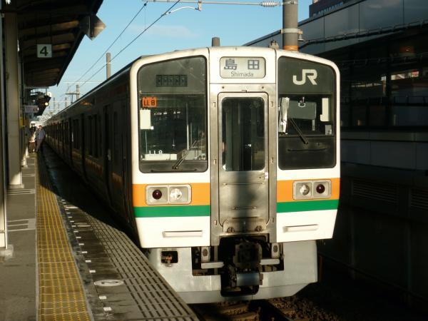 2014-01-03 東海道線211系 島田行き