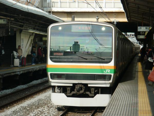 2014-01-03 東海道線E231系 快速アクティー熱海行き