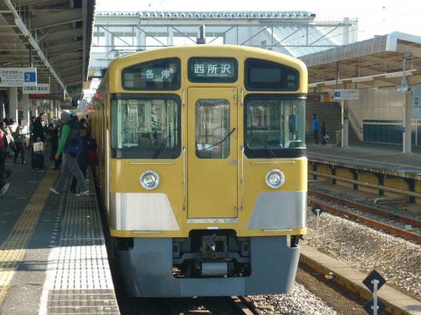 2014-01-12 西武2063F 各停西所沢行き2