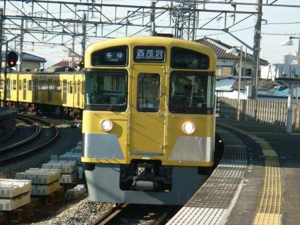 2014-01-12 西武2083F 各停西所沢行き1