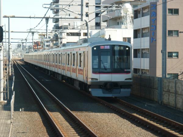 2014-01-13 東急4103F 快急小手指行き