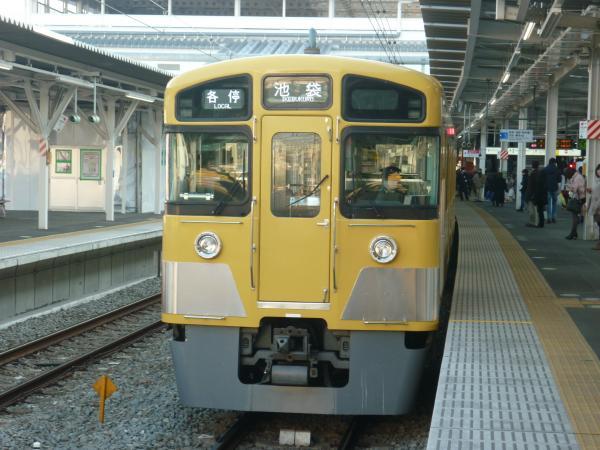 2014-01-18 西武2083F 各停池袋行き2