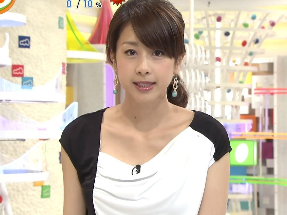 加藤綾子 鎖骨