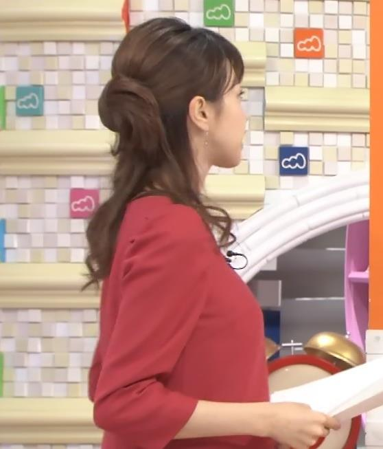 加藤綾子 巨乳・横乳