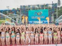 中国・広州で若い女性数千人が集まって立夏を祝う「第6回万人ビキニイベント」実施