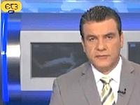 ギリシャのニュース番組でポルノ映像が流れる放送事故