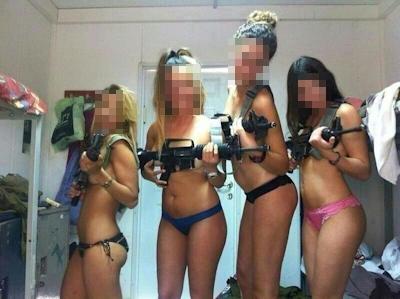 イスラエル軍女性兵士 セクシー下着画像 1