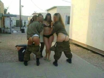 イスラエル軍女性兵士 セクシー下着画像 4