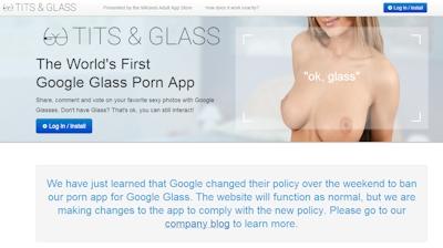 Glass Porn App | Tits & Glass