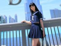 富樫あずさ 新作イメージDVD 「Dubai Dream」 7/5 リリース