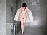 彼女の野外露出&室内ヌード画像 2