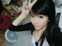 香港の美少女 BOBO 自分撮り画像