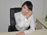 巨乳美人秘書をオフィスでハメ撮りセックス画像 4