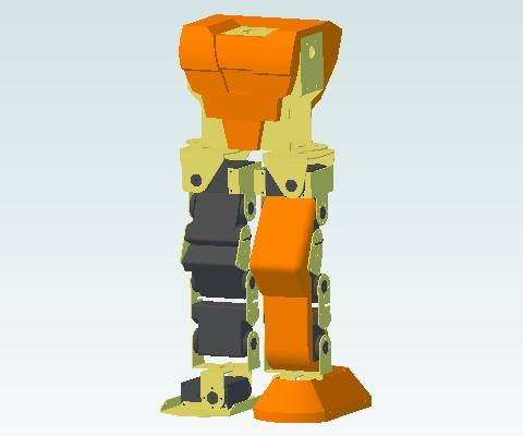ロボットの外装01