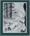 雪の仁王門