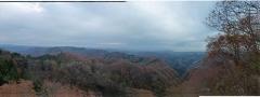 篭岩山頂からの眺望