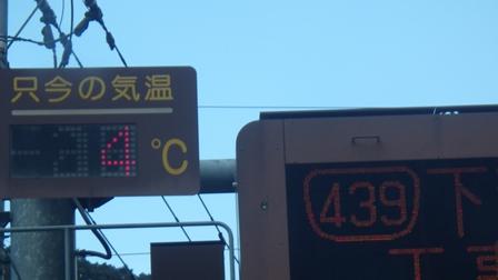 439号線温度計