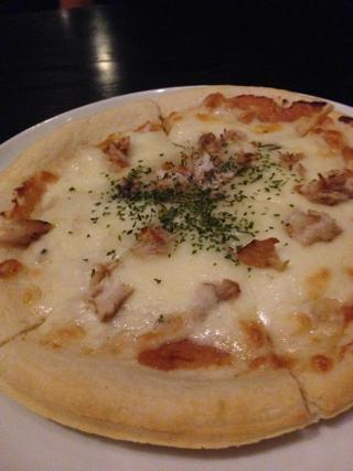 ブリフレークのピザ