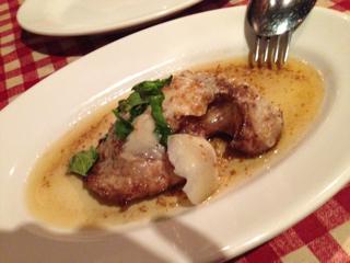 マグロのほほ肉のソテー