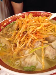 葱塩ワンタン麺