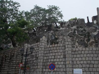 マカオの城壁1