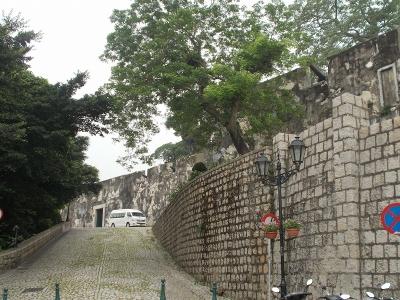 マカオの城壁2