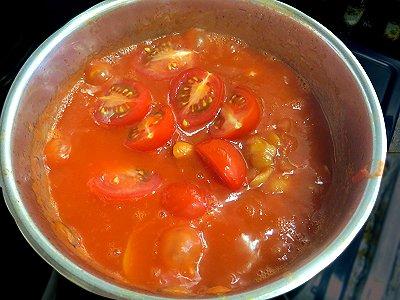 プチトマトは火を止めて最後にREVdownsize