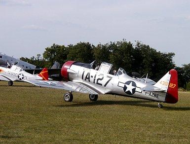 シルバーがまぶしい本家米空軍のテキサンREVdownsize