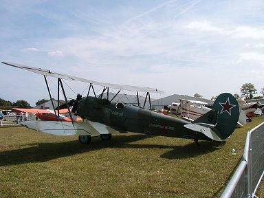 ポリカールポフ Po-2練習機downsize