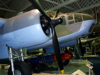 RAF博物館のボーフォートはツインワスプ装備のII型downsize
