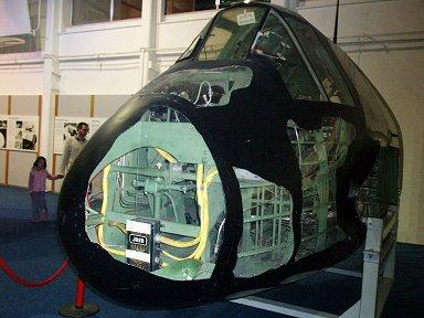 ボーファイター実物のスケレトンモデルこれは夜戦NFIF型(RAF博物館)downsize