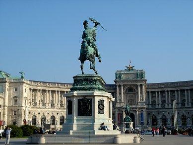 ホーフブルク王宮のヨーゼフII世像( Joseph II )downsize