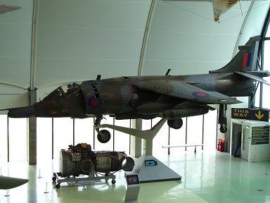 昆虫並みの性能を持つ唯一のヒコーキBAeハリアー(Harrier)downsize