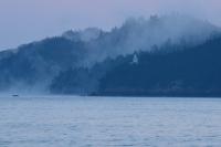 小佐木島と海霧