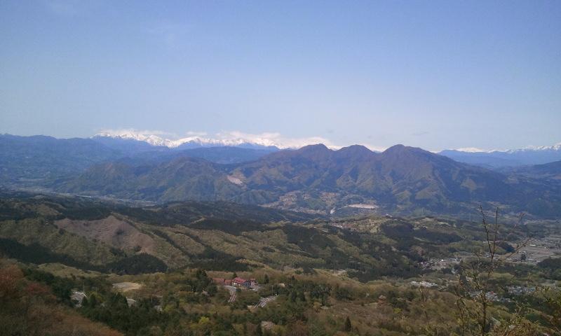 榛名山展望台
