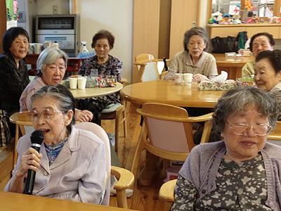秋田県民歌熱唱