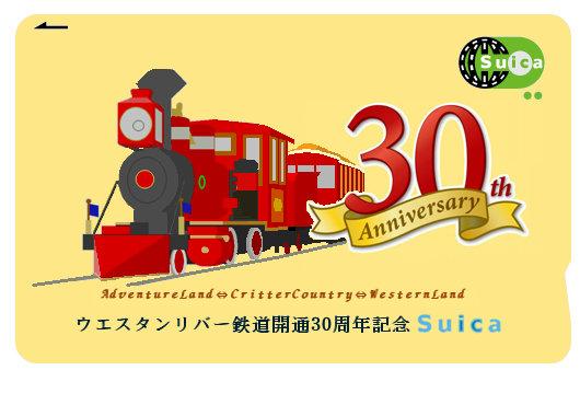 リバ鉄開通30周年記念スイカ3