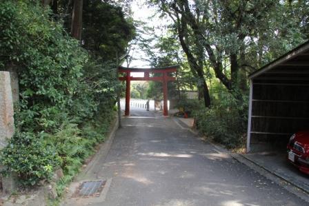 吉田神社の鳥居_H25.10.13撮影