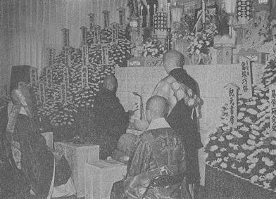 加藤大岳先生協会葬