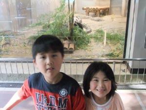上野動物園_パンダと1