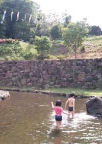 里山公園_池ふたり